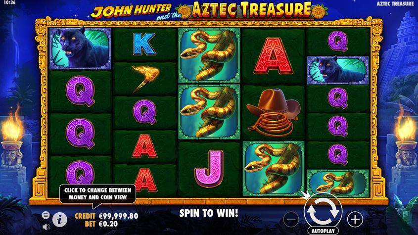 Montezuma Treasure Cleopatras 622398