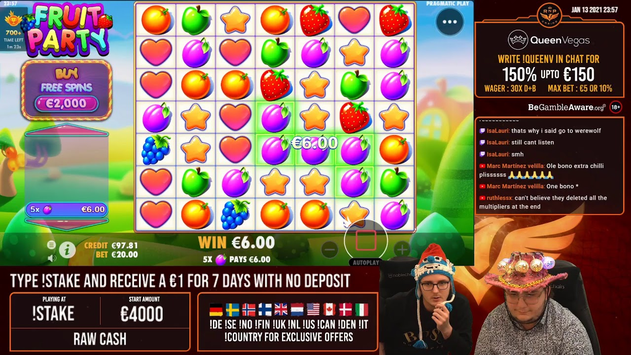 Slots in streaming 810447